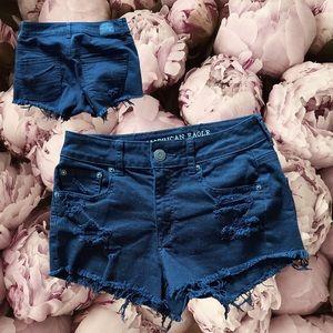 Ae jeans shorts